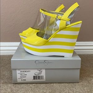 NEVER WORN! Jessica Simpson Wedges
